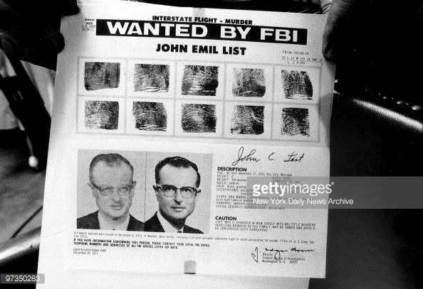 list wanted poster